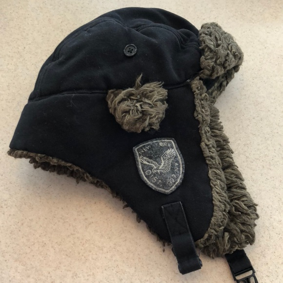 ea717bb44 AE Black Trapper Hat